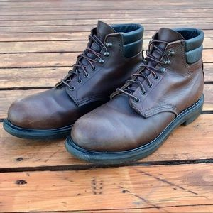 Red Wing 2245 Supersole Boots 11 D Brown Leather